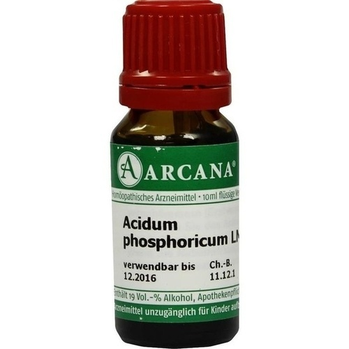 ACIDUM PHOS LM 12, 10 ML, ARCANA Dr. Sewerin GmbH & Co. KG
