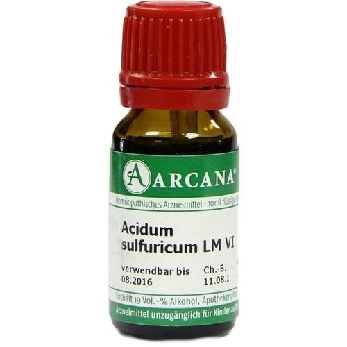 ACIDUM SULFUR LM 6, 10 ML, ARCANA Dr. Sewerin GmbH & Co. KG