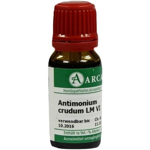 ANTIMONIUM CRUD LM 6, 10 ML, ARCANA Dr. Sewerin GmbH & Co. KG