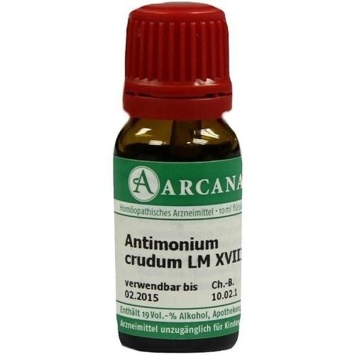 ANTIMONIUM CRUD LM 18, 10 ML, Arcana Arzneimittel-Herstellung Dr. Sewerin GmbH & Co. KG