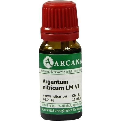 ARGENTUM NITRIC LM 6, 10 ML, Arcana Arzneimittel-Herstellung Dr. Sewerin GmbH & Co. KG