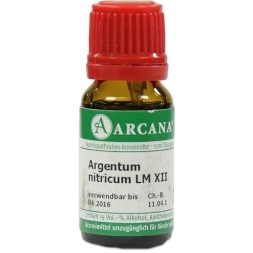 ARGENTUM NITRIC LM 12, 10 ML, Arcana Arzneimittel-Herstellung Dr. Sewerin GmbH & Co. KG