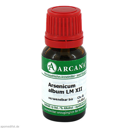 ARSENICUM ALBUM LM 12, 10 ML, ARCANA Dr. Sewerin GmbH & Co. KG