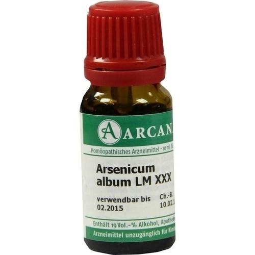 ARSENICUM ALBUM LM 30, 10 ML, Arcana Arzneimittel-Herstellung Dr. Sewerin GmbH & Co. KG