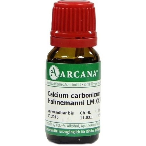 CALCIUM CARB HAHN LM 24, 10 ML, Arcana Arzneimittel-Herstellung Dr. Sewerin GmbH & Co. KG