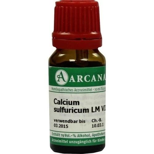 CALCIUM SULF LM 6, 10 ML, Arcana Arzneimittel-Herstellung Dr. Sewerin GmbH & Co. KG
