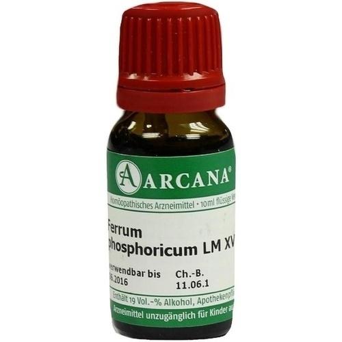 FERRUM PHOSPHOR LM 18, 10 ML, Arcana Arzneimittel-Herstellung Dr. Sewerin GmbH & Co. KG