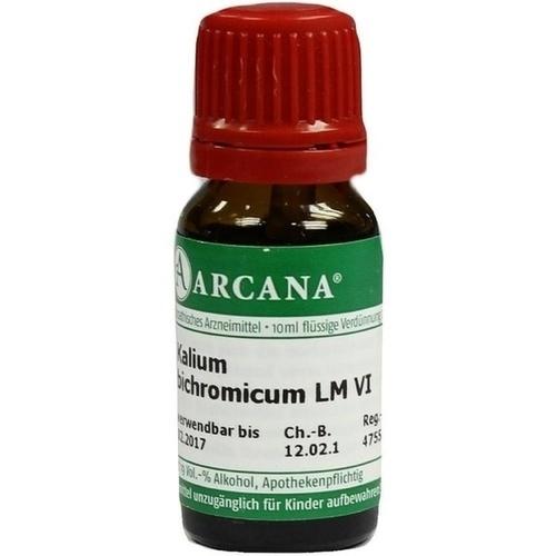 KALIUM BICHROMIC LM 6, 10 ML, Arcana Arzneimittel-Herstellung Dr. Sewerin GmbH & Co. KG