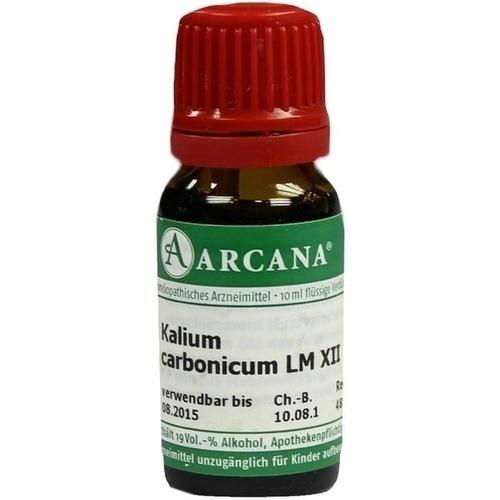 KALIUM CARBONIC LM 12, 10 ML, Arcana Arzneimittel-Herstellung Dr. Sewerin GmbH & Co. KG