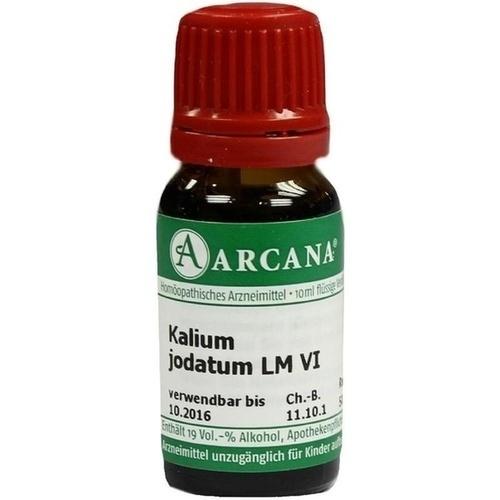KALIUM JODAT LM 6, 10 ML, Arcana Arzneimittel-Herstellung Dr. Sewerin GmbH & Co. KG