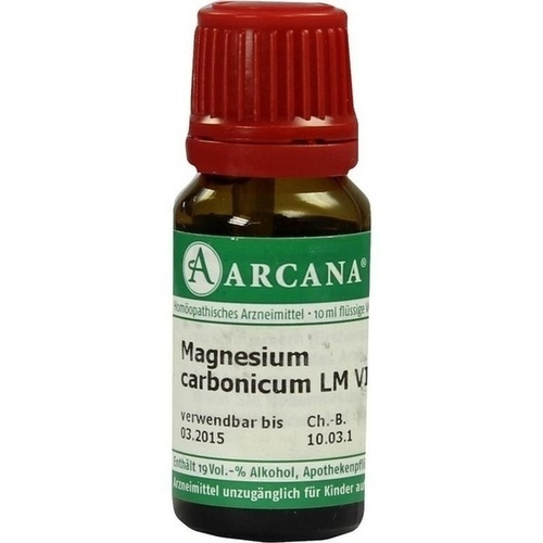 MAGNESIUM CARBONIC LM 6, 10 ML, Arcana Arzneimittel-Herstellung Dr. Sewerin GmbH & Co. KG