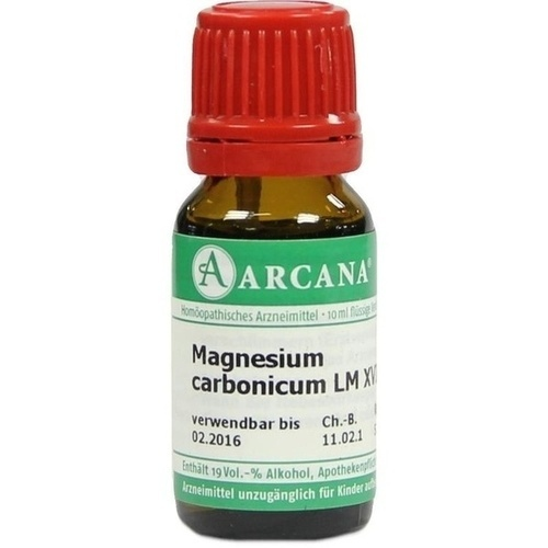 MAGNESIUM CARBONIC LM 18, 10 ML, Arcana Arzneimittel-Herstellung Dr. Sewerin GmbH & Co. KG