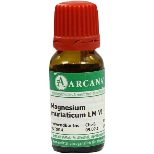 MAGNESIUM MURIATIC LM 6, 10 ML, Arcana Arzneimittel-Herstellung Dr. Sewerin GmbH & Co. KG