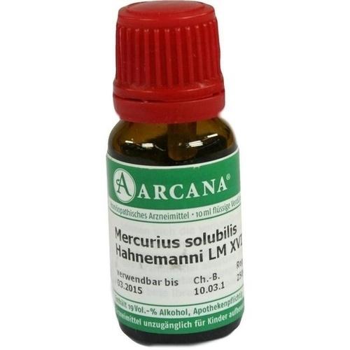 MERCURIUS SOLUB HAHN LM 18, 10 ML, Arcana Arzneimittel-Herstellung Dr. Sewerin GmbH & Co. KG