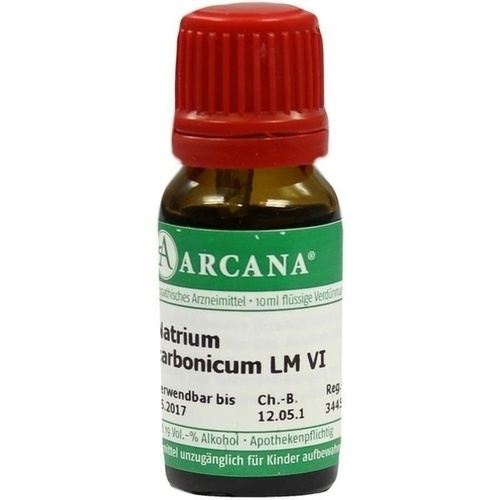 NATRIUM CARBONIC LM 6, 10 ML, Arcana Arzneimittel-Herstellung Dr. Sewerin GmbH & Co. KG