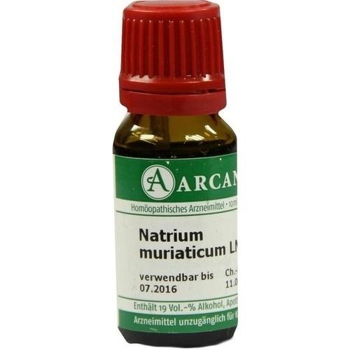 NATRIUM MURIAT LM 12, 10 ML, Arcana Arzneimittel-Herstellung Dr. Sewerin GmbH & Co. KG