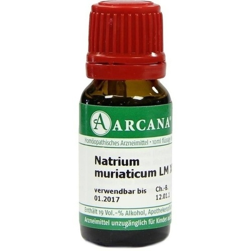 NATRIUM MURIAT LM 18, 10 ML, ARCANA Dr. Sewerin GmbH & Co. KG