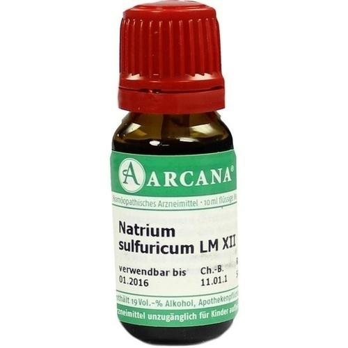 NATRIUM SULFUR LM 12, 10 ML, Arcana Arzneimittel-Herstellung Dr. Sewerin GmbH & Co. KG