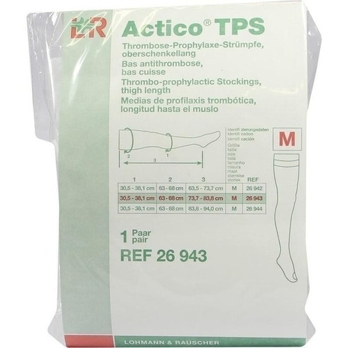 Actico TPS oberschenkellang Gr.M normal paarweise, 2 ST, Lohmann & Rauscher GmbH & Co. KG