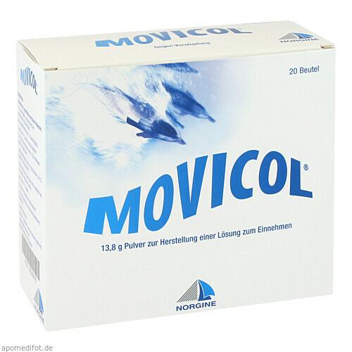 Movicol Beutel, 20 ST, Norgine GmbH