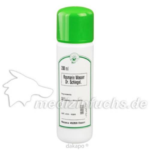 Rosmarinwasser Dr.Schlegel, 200 ML, Resana GmbH