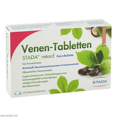 Venen-Tabletten Stada retard, 100 ST, STADA Consumer Health Deutschland GmbH