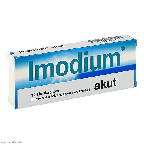 IMODIUM akut Kapseln, 12 ST, Abis-Pharma