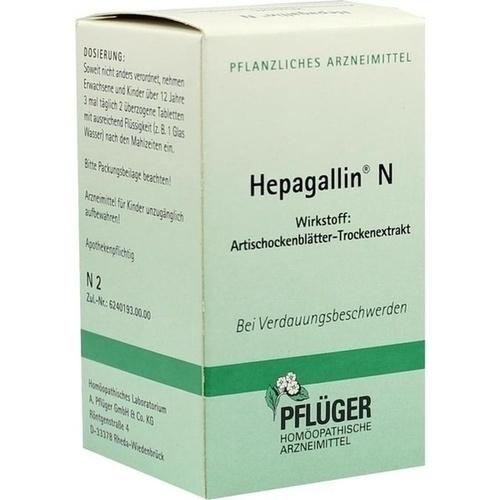 HEPAGALLIN N, 50 ST, A.Pflüger GmbH & Co. KG