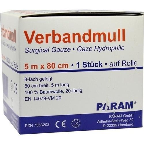 VERBANDMULL 5 M GEROLLT, 1 P, Param GmbH