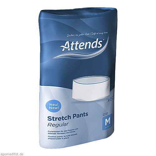 Attends Stretch Pants Regular Medium, 15 ST, Attends GmbH