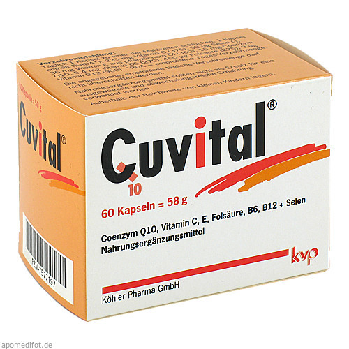 Cuvital, 60 ST, Köhler Pharma GmbH