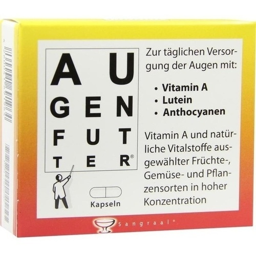 Augenfutter Kapseln, 20 ST, Lucien Ortscheit GmbH