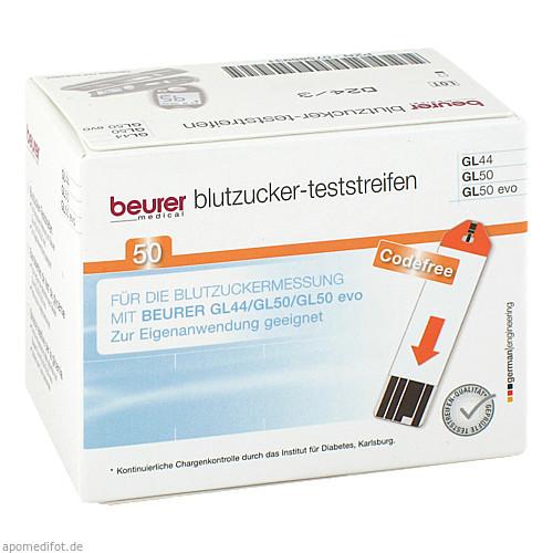 Beurer GL44/GL50 Teststreifen, 50 ST, Beurer GmbH Gesundheit und Wohlbefinden