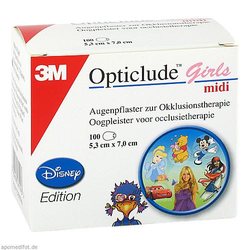 Opticlude 3M Disney Girls midi, 100 ST, 3M Medica Zweigniederlassung der 3M Deutschland GmbH