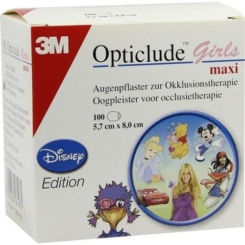 Opticlude 3M Girls Disney Edition 2539M D PG-100, 100 ST, 3M Medica Zweigniederlassung der 3M Deutschland GmbH
