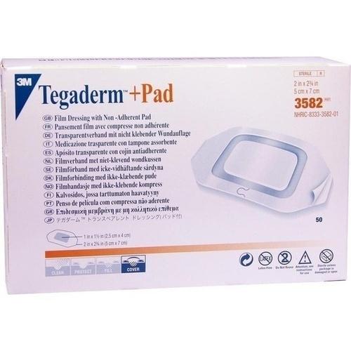 Tegaderm Plus Pad 3M 5x7cm, 50 ST, 3M Medica Zweigniederlassung der 3M Deutschland GmbH