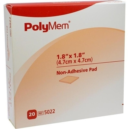 PolyMem Wund Pad 5x5cm, 20 ST, Mediset Clinical Products GmbH