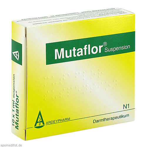 Mutaflor Suspension, 10X1 ML, Ardeypharm GmbH