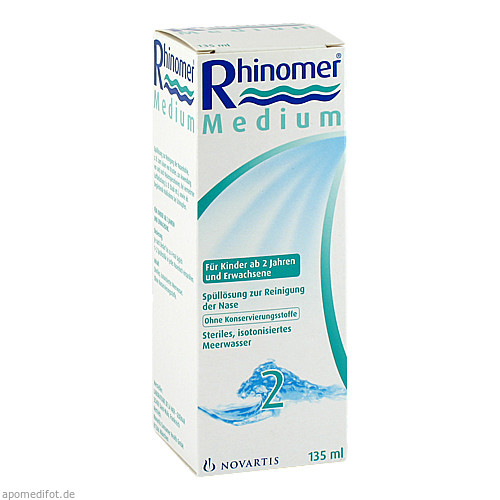RHINOMER 2 Medium, 135 ML, GlaxoSmithKline Consumer Healthcare