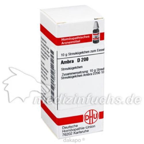 AMBRA D200, 10 G, Dhu-Arzneimittel GmbH & Co. KG
