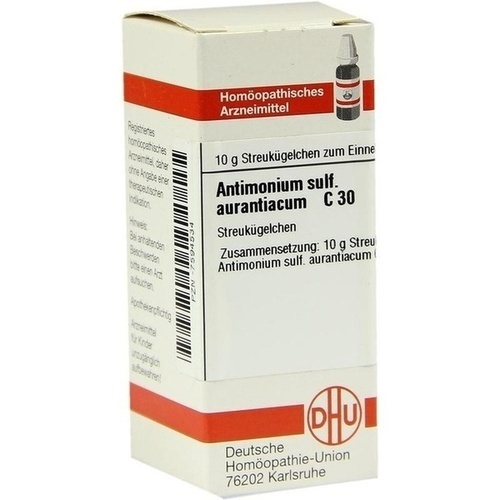ANTIMONIUM SULF AURANT C30, 10 G, Dhu-Arzneimittel GmbH & Co. KG
