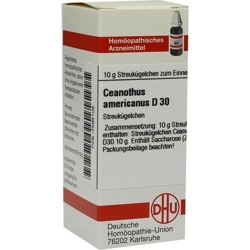 CEANOTHUS AMERICANUS D30, 10 G, Dhu-Arzneimittel GmbH & Co. KG