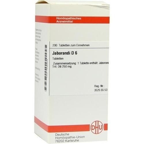 JABORANDI D 6, 200 ST, Dhu-Arzneimittel GmbH & Co. KG