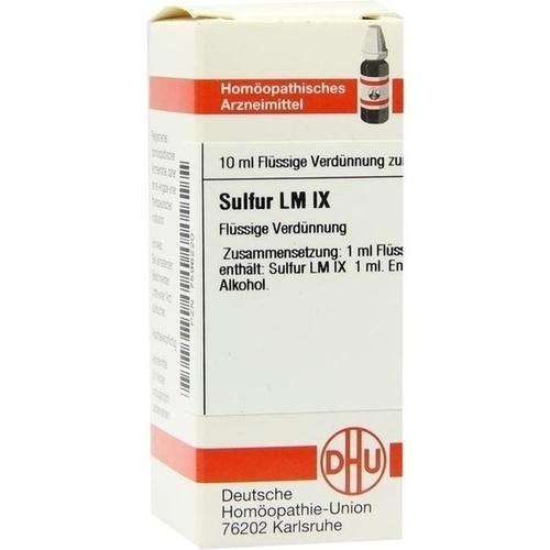LM SULFUR IX, 10 ML, Dhu-Arzneimittel GmbH & Co. KG