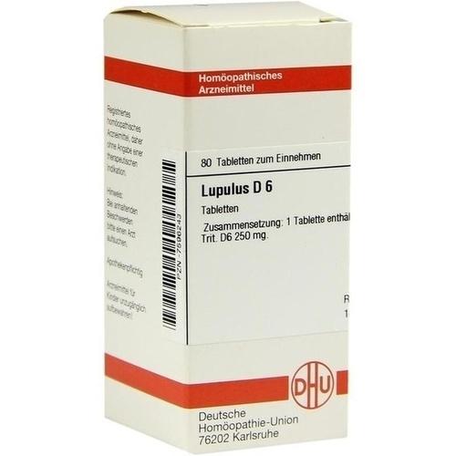 LUPULUS D 6, 80 ST, Dhu-Arzneimittel GmbH & Co. KG