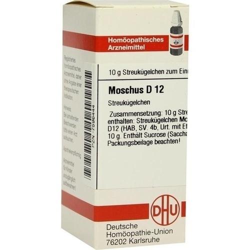 MOSCHUS D12, 10 G, Dhu-Arzneimittel GmbH & Co. KG