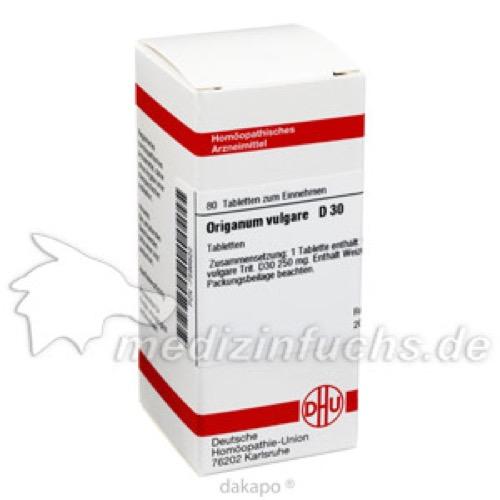 ORIGANUM VULG D30, 80 ST, Dhu-Arzneimittel GmbH & Co. KG