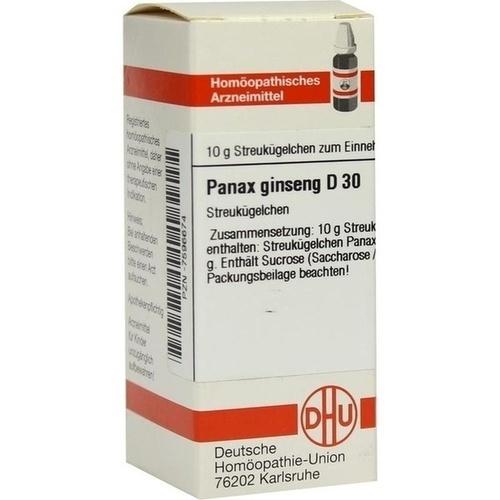 PANAX GINSENG D30, 10 G, Dhu-Arzneimittel GmbH & Co. KG