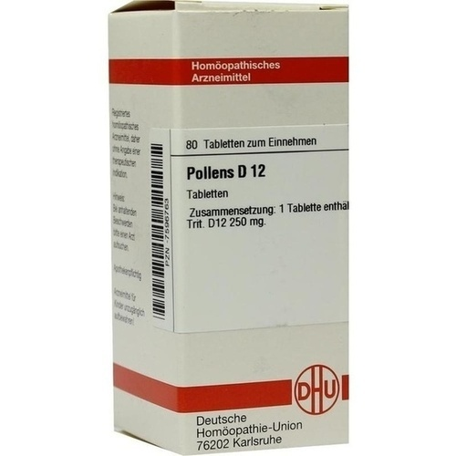 POLLENS D12, 80 ST, Dhu-Arzneimittel GmbH & Co. KG