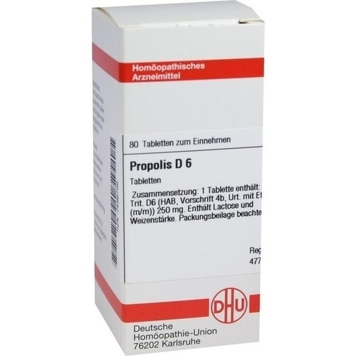PROPOLIS D 6, 80 ST, Dhu-Arzneimittel GmbH & Co. KG